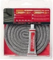 FUEGO STYLE Style Tricote, 12 mm, z lepilom Thermofix, 17 ml tesnilna vrvica