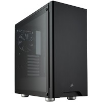 CORSAIR CC-9011132-WW Corsair Carbide Series 275R Tempered Glass Mid-Tower Gaming Case, Black