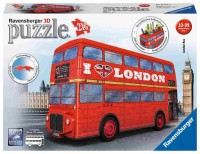 RAVENSBURGER London Bus 12534 216 delna 3D sestavljanka