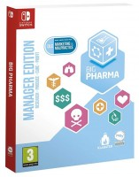 MERIDIEM GAMES  Big Pharma - Special Edition (Nintendo Switch)