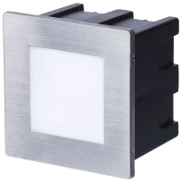 EMOS LIGHTING vgradna, kvadratna 1,5W WW IP65 ZC0109 orientacijska LED svetilka