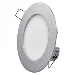 EMOS LIGHTING 6W NW srebrni ZD1222 LED panel okrogel