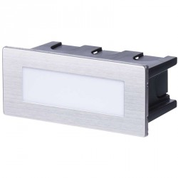 EMOS LIGHTING vgradna, kvadratna 1,5W WW IP65 ZC0108 orientacijska LED svetilka